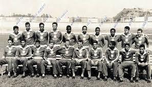 Seleção Brasileira que conquistou a medalha de ouro no torneio de futebol dos Jogos Pan-Americanos de 1963.