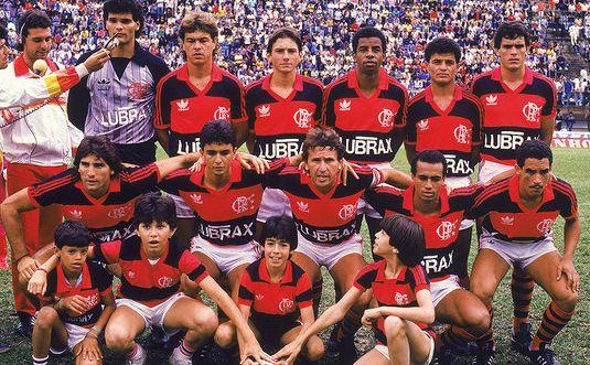 Time do Flamengo Campeão Brasileiro de 1987