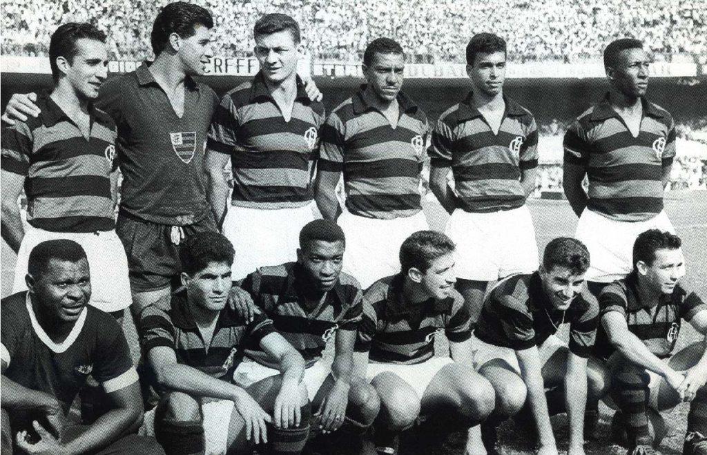 Time do Flamengo campeão do Rio x São Paulo de 1961
