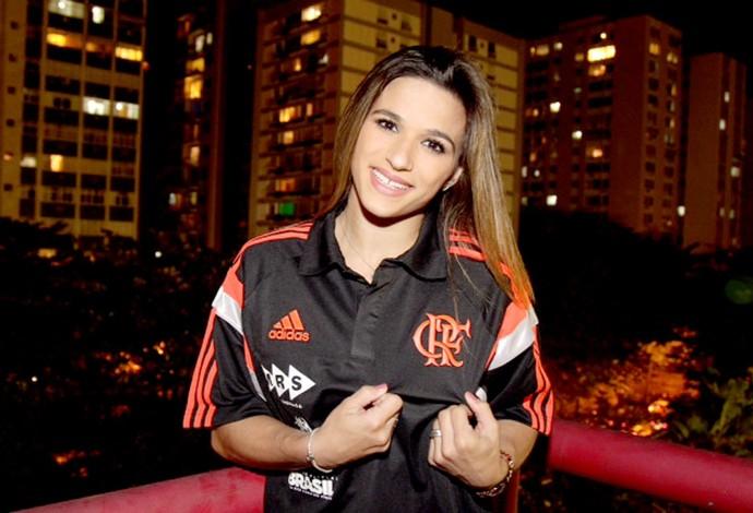 Jade Barbosa, ginasta do Flamengo que está em Toronto. (Foto: Gilvan de Souza / FlaImagem)