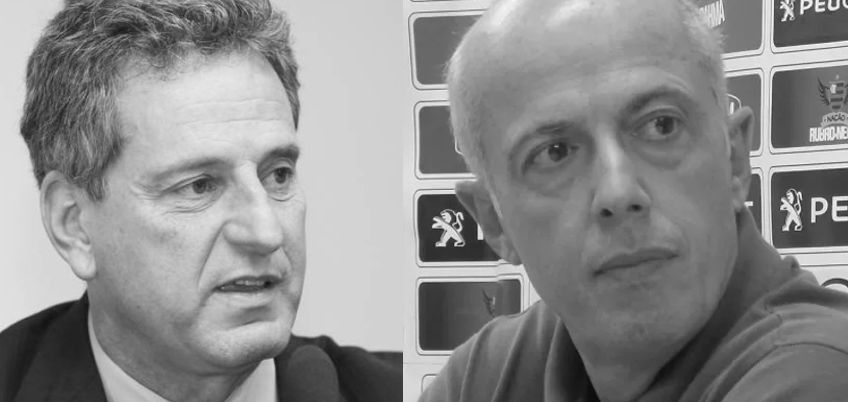 Rodolfo Landim e Wallim Vasconcellos (Fotos:  Fabio Rossi / Agência O Globo e Richard Souza)