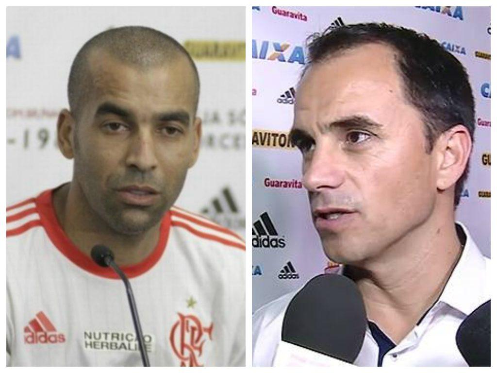 Emerson Sheik e Rodrigo Caetano.