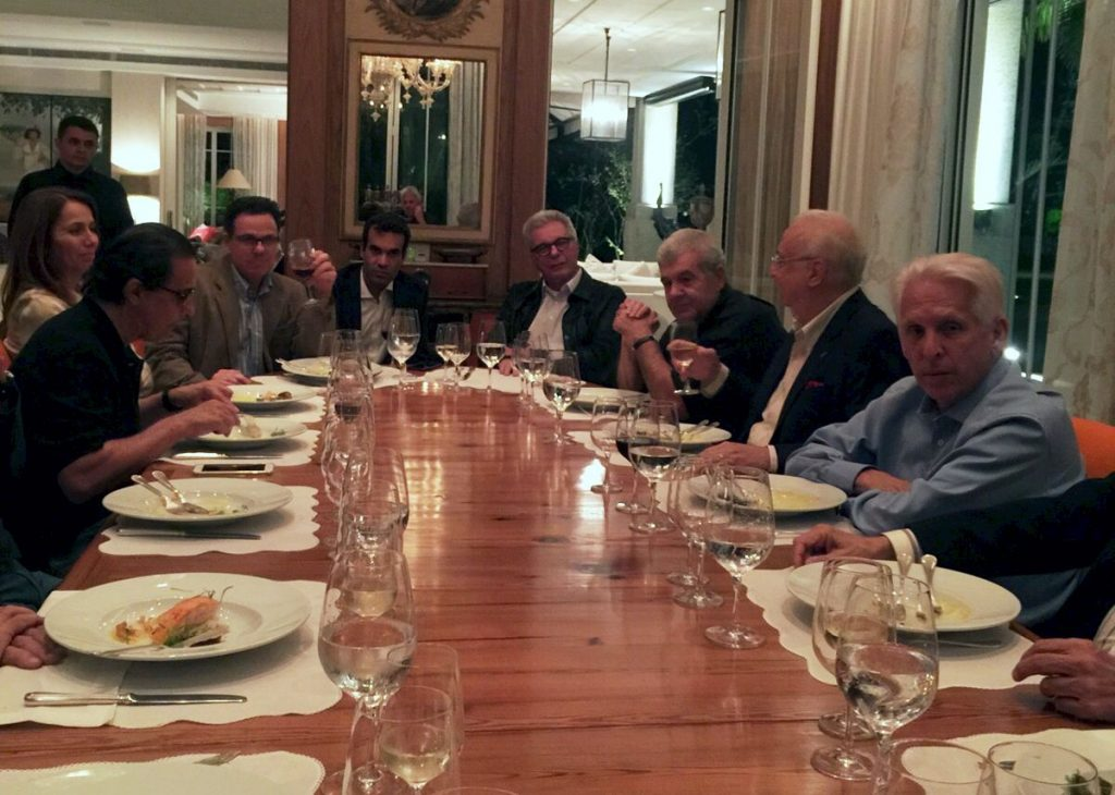 Jantar presidentes do Flamengo - Kleber Leite
