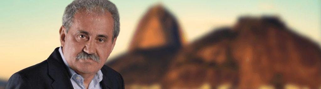 """O Rubro-Negro Ancelmo Gois, criador """"da perseguida"""". (foto: O Globo)"""
