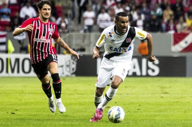 Vasco x São Paulo disputado no Estádio Mané Garrincha em 08/07 - Mando de campo vendido pelo Vasco.
