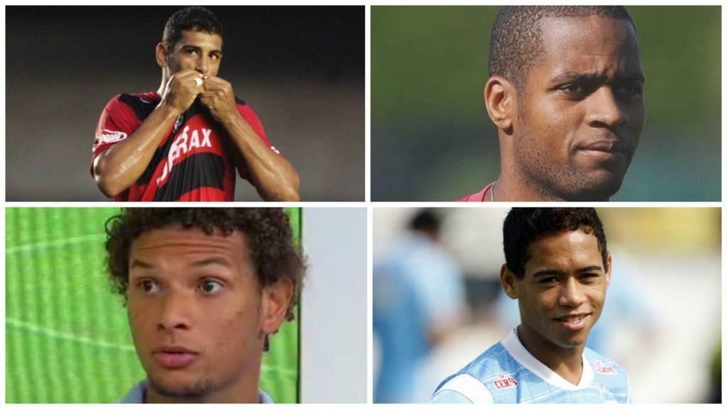 Diego Souza, Dedé, Arão e Pikachu. Bons reforços?