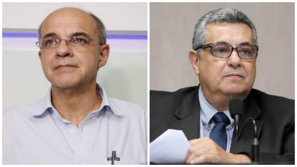 Eduardo Bandeira de Mello e Rubens Lopes.