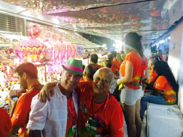 Kleber Leite e Getúlio Brasil