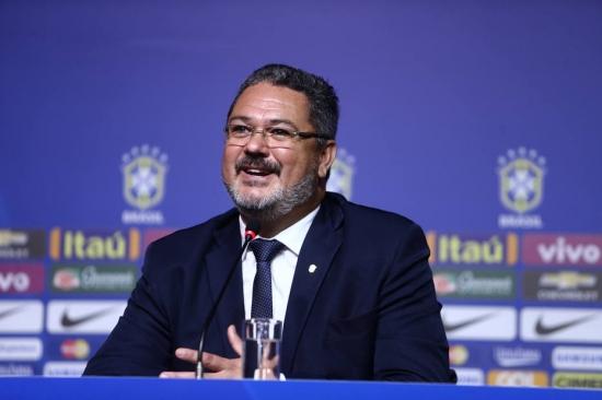 O técnico da Seleção Olímpica, Rogério Micale (Foto: WiltonJunior / Estadão)