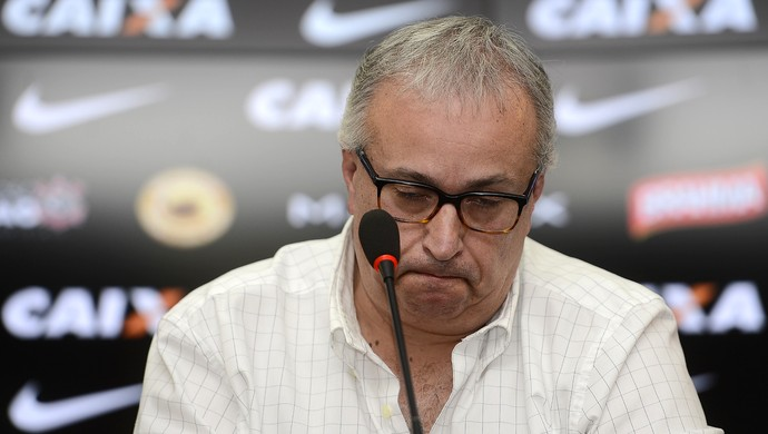 Roberto de Andrade, presidente do Corinthians (Foto: Mauro Horita - Agência Estado)