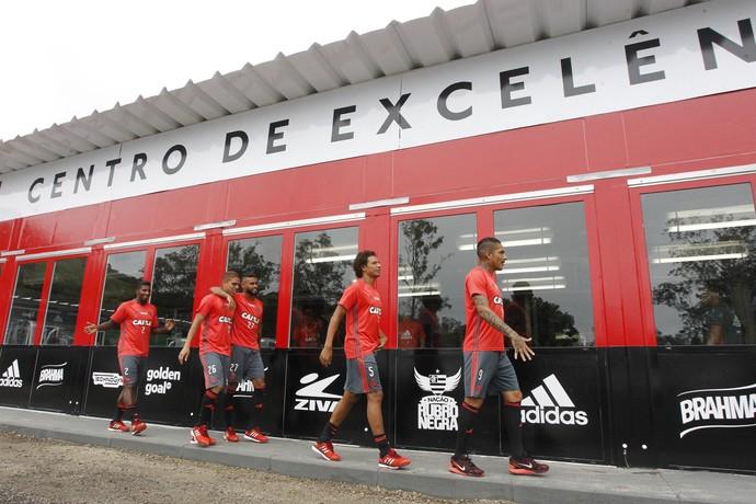 CT George Helal. ((Foto: Gilvan de Souza/Flamengo))