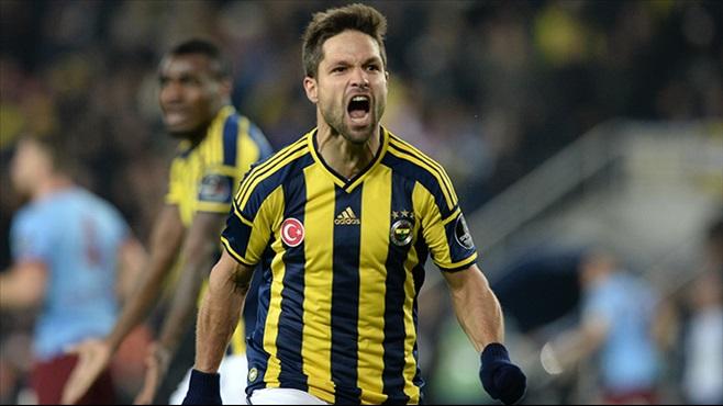 Diego, enquanto atuava pelo Fenerbahçe.