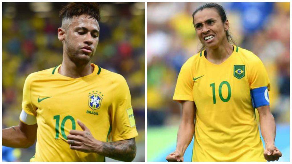 Neymar e Marta