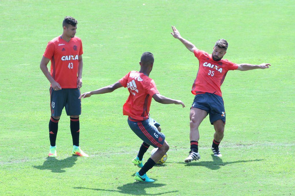 Treino do Flamengo - 27/10/2016 (Foto: Gilvan de Souza / Flamengo)