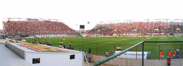 Estádio Luso Brasileiro, já utilizado pelo Flamengo em 2006.