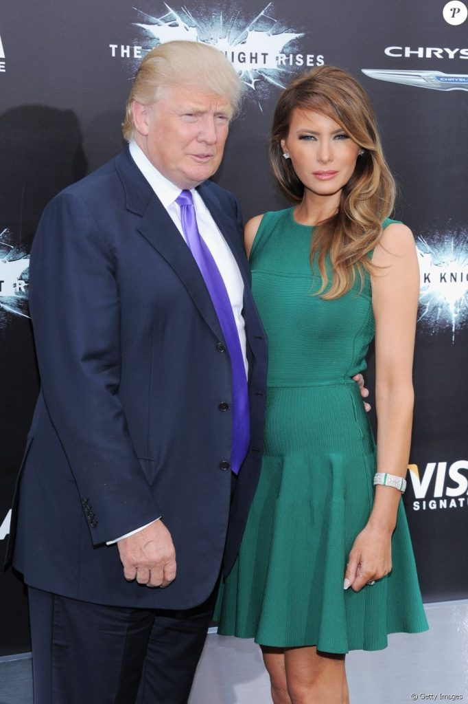 O cara com uma mulher dessa o mínimo que ele tem que ser é presidente dos Estados Unidos...