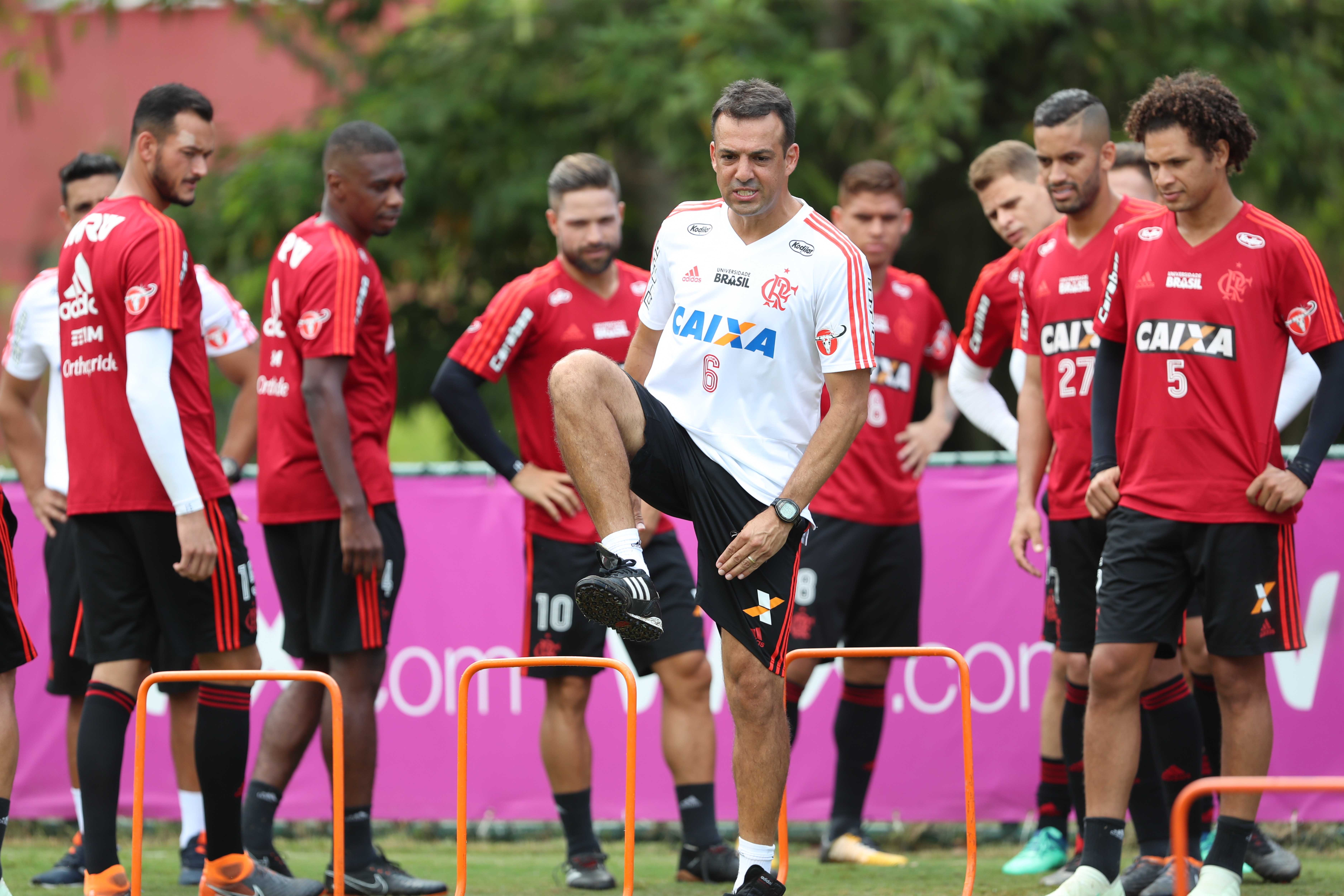 4a2f782f7933e Treino do Flamengo – 09 04 18 (Foto  Gilvan de Souza   Flamengo)